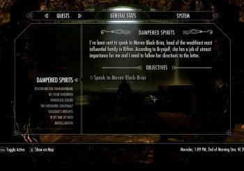Skyrim Sidequest - Dampened Spirits