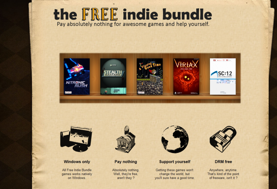 Get Indie Titles For Nothing With The Free Indie Bundle