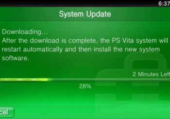 PlayStation Vita 1.60 Firmware Now Available