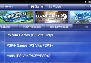 US PlayStation Vita Store is Up and Running