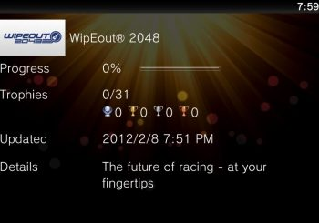 Wipeout 2048 Trophy List Unveiled