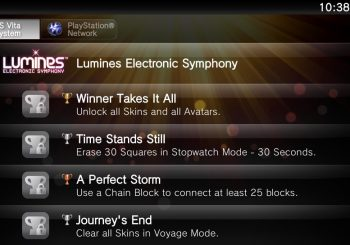 Could Lumines Electronic Symphony Contain a Platinum?