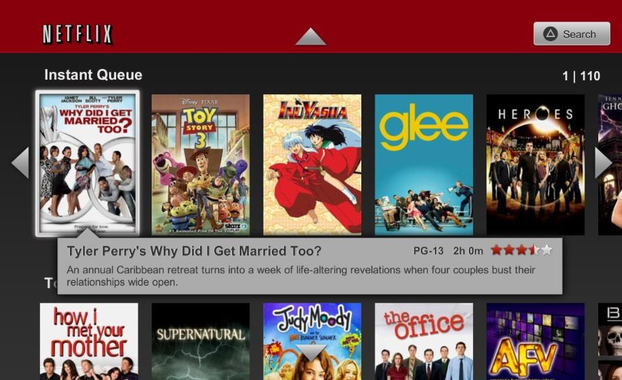 Netflix Now Available on the PlayStation Vita