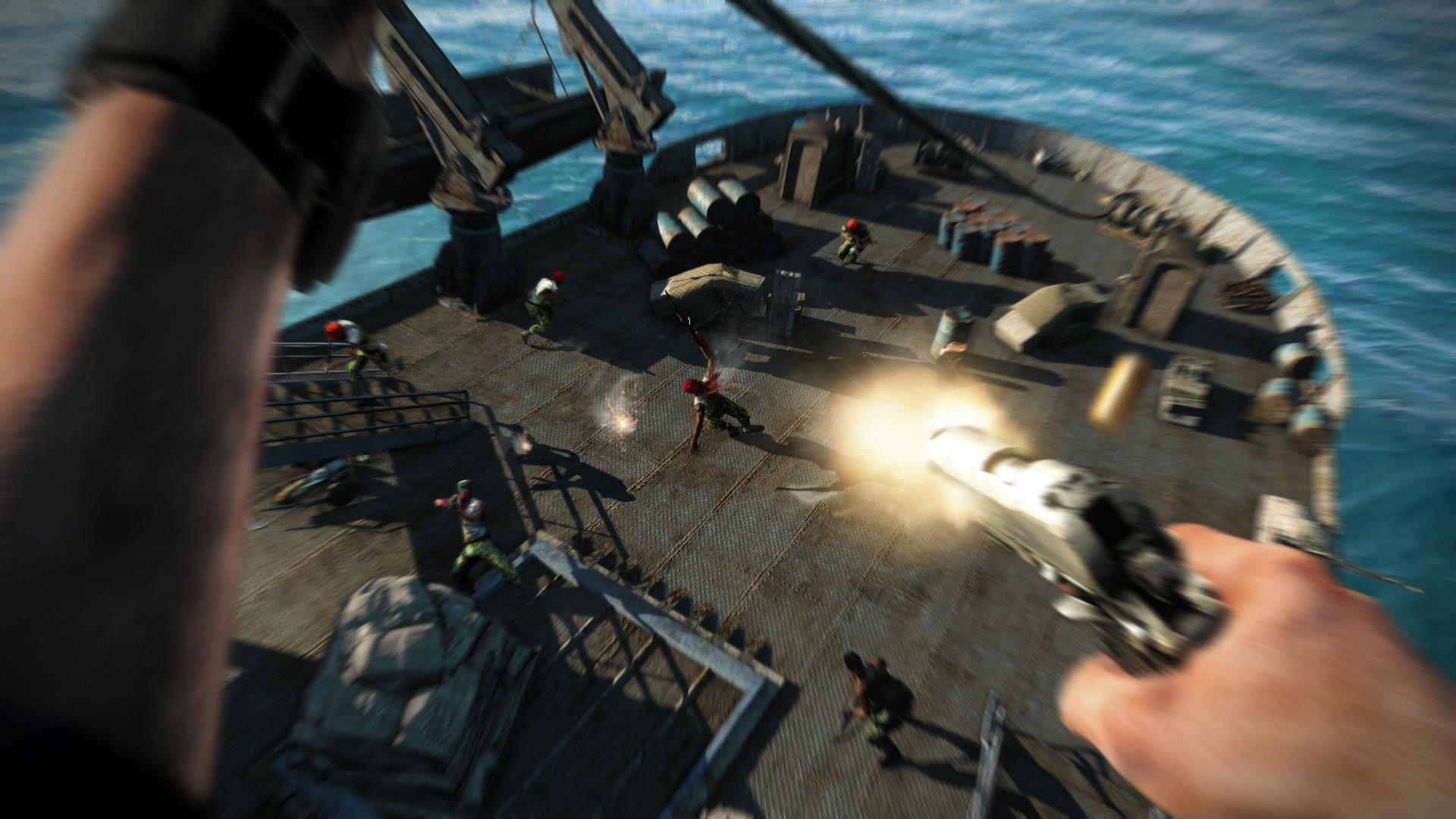 New Far Cry 3 Screens Released Just Push Start