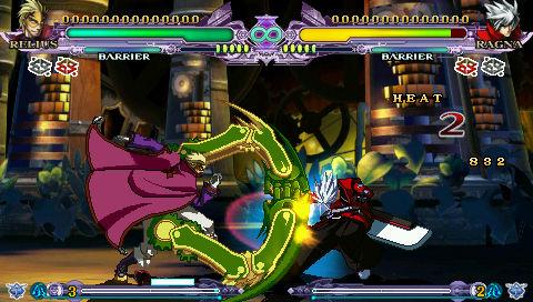 New BlazBlue Continuum Shift Extend PSP Screenshots