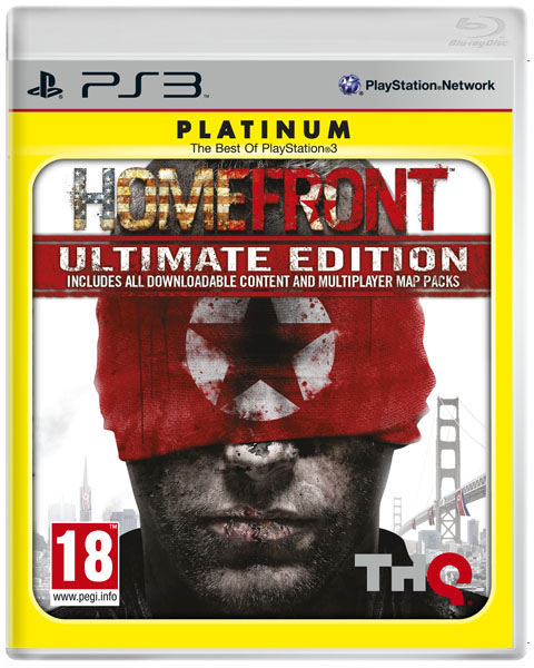 THQ Reveals Homefront Ultimate Edition Box Art