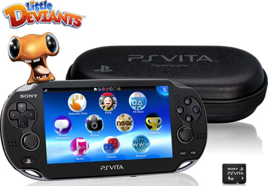 SCEA Unboxes PlayStation Vita First Edition Bundle