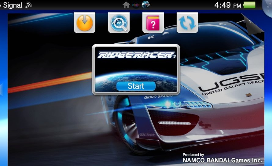 Ridge Racer (Vita) Gets a Big Day One Patch