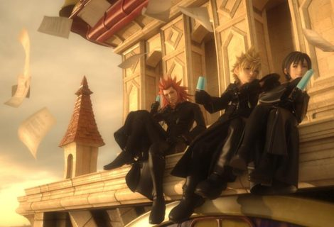 New Screenshots From Kingdom Hearts 3D: Dream Drop Distance