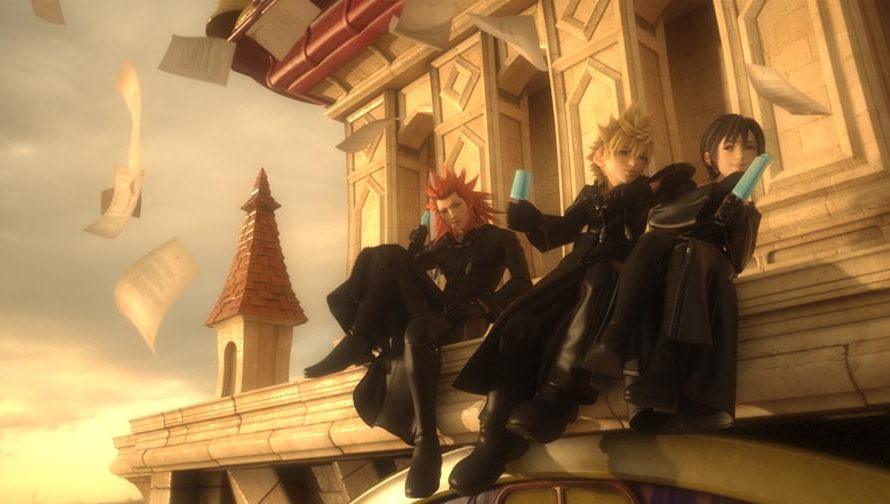New Screenshots From Kingdom Hearts 3D: Dream Drop Distance