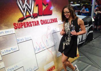 AJ Wins The WWE '12 Superstar Challenge At Fan Axxess