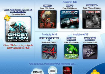 April US Playstation Plus Schedule Revealed
