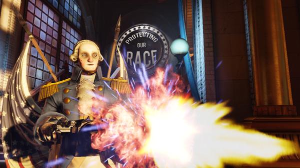 Motorized Patriot Revealed For BioShock Infinite