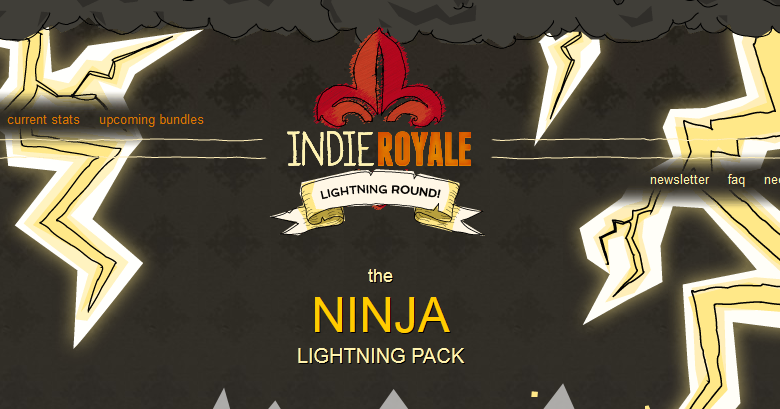 Indie Royale Ninja Lightning Pack Now Out