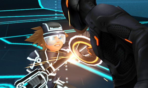 Kingdom Hearts 3D: Dream Drop Distance Features The Grid from Tron