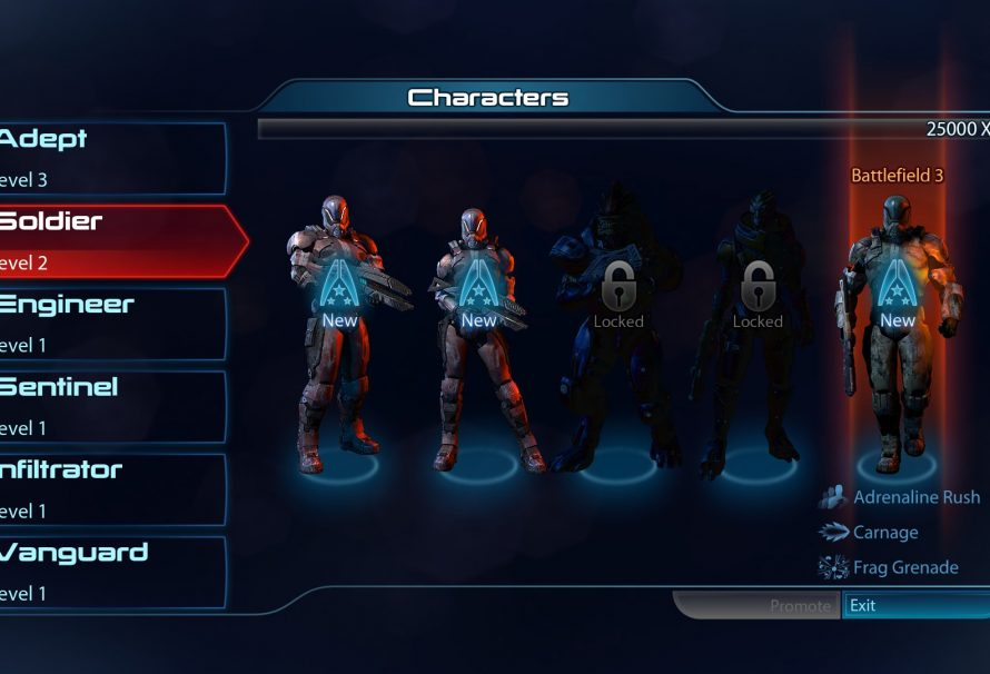 Mass Effect 3 Gives Battlefield 3 Owners an Exclusive Kit for Co-Op