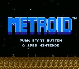 Metroid NES Now on 3DS Shop