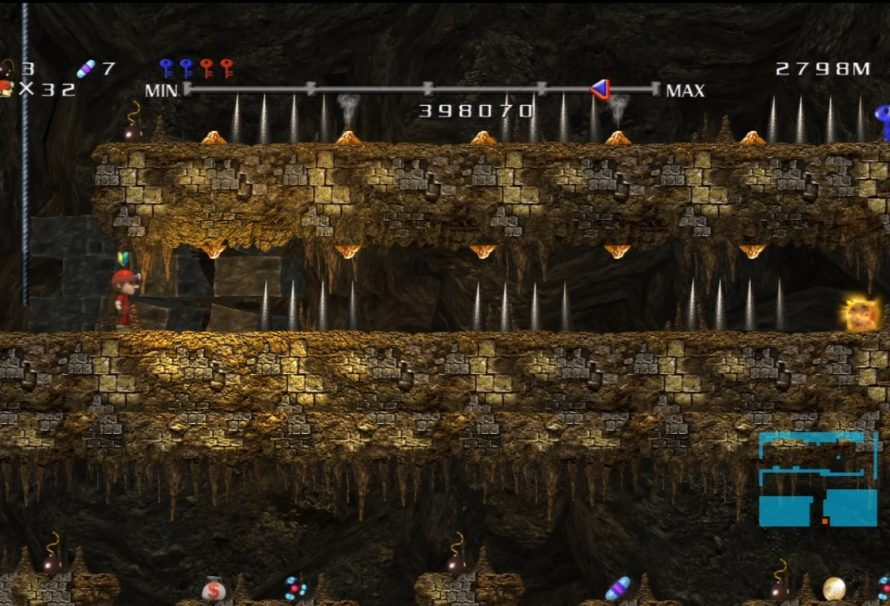 Spelunker HD Tozai Games Edition EX 3 First Five Minutes