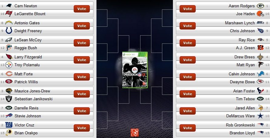 Vote for the Cover of Madden 13