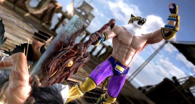 New Souls Calibur 5 DLC Brings In Tekken Outfits