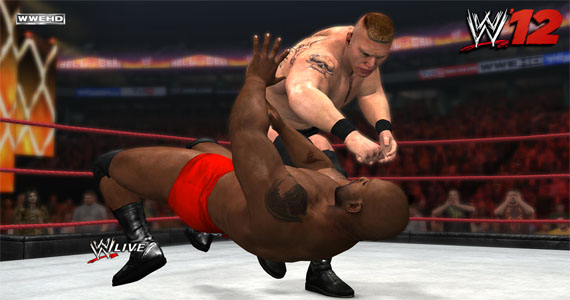 Brock Lesnar's Return Recreated In WWE '12