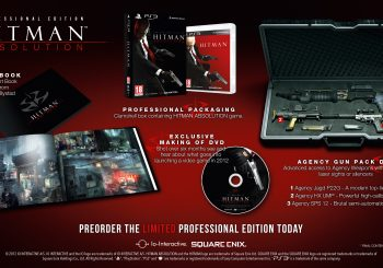 Square Enix Announces Hitman Absolution Professional Edition