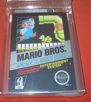Sealed Mario Bros. Game Listed on Ebay