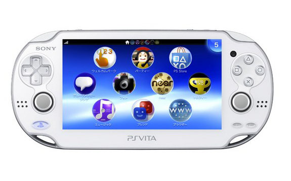PlayStation Vita Gets Another Color in Japan; Crystal White