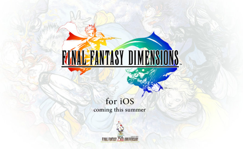 Final Fantasy Dimensions To Be Released On iOS Platforms This Summer