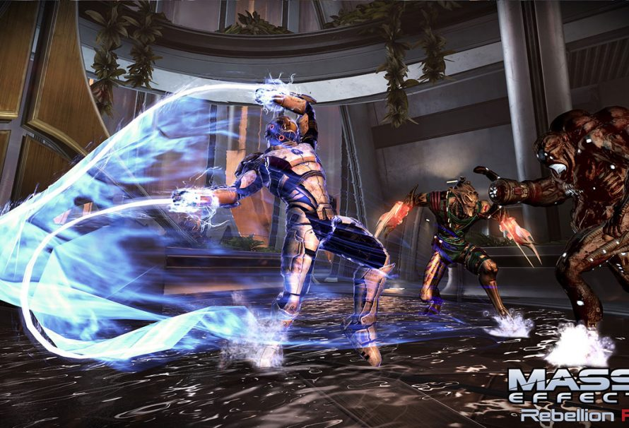 Mass Effect 3: Rebellion Pack Officially Announced, Coming Next Week