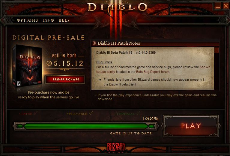Diablo 3 Error 37 is Nothing to Fret Over