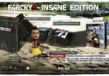 Far Cry 3 Insane Edition Announced For UK
