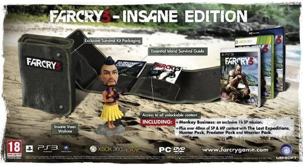 Far Cry 3 Insane Edition Announced For UK