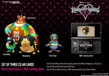 Kingdom Hearts 3D: Dream Drop Distance Pre-Order Items Revealed