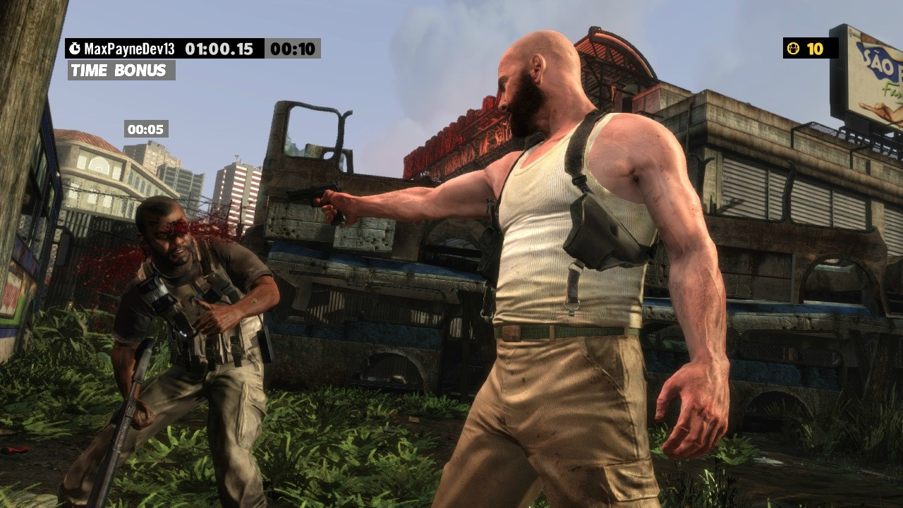Max Payne 3 Arcade Mode Revealed First Screenshots Inside Just