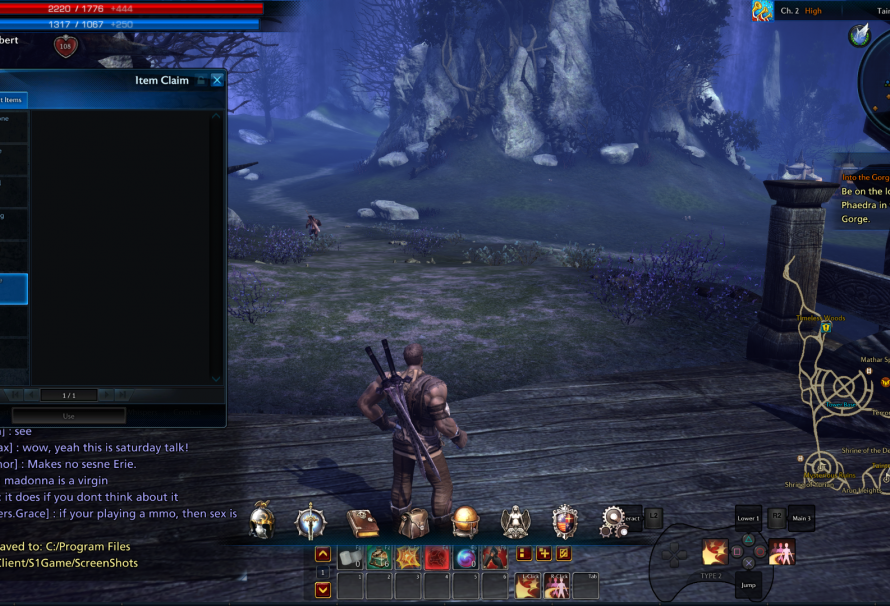 TERA: How to Access the Pre-Order Items