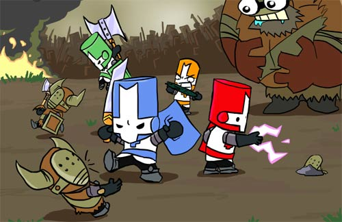 Castle Crashers is Half Off This Weekend