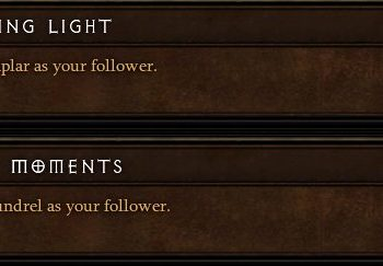 Diablo 3 - the Three Followers & the their Abilities Guide