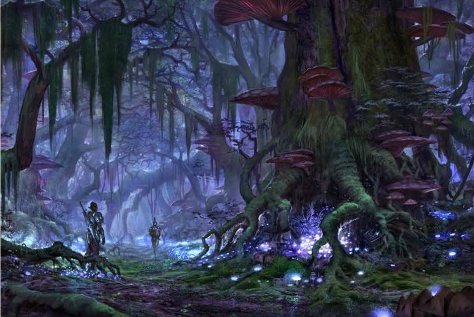 Leaked The Elder Scrolls Online (PC / Mac) Screenshots - Just Push Start