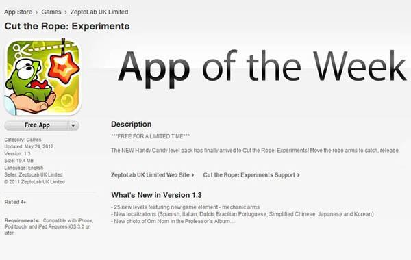 Apple Starts Free iOS App of the Week - Just Push Start