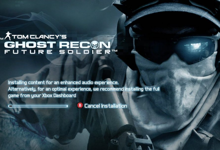 Ghost Recon: Future Soldier Optimized for Data Install