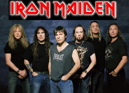 Iron Maiden Thrashing Onto Rock Band