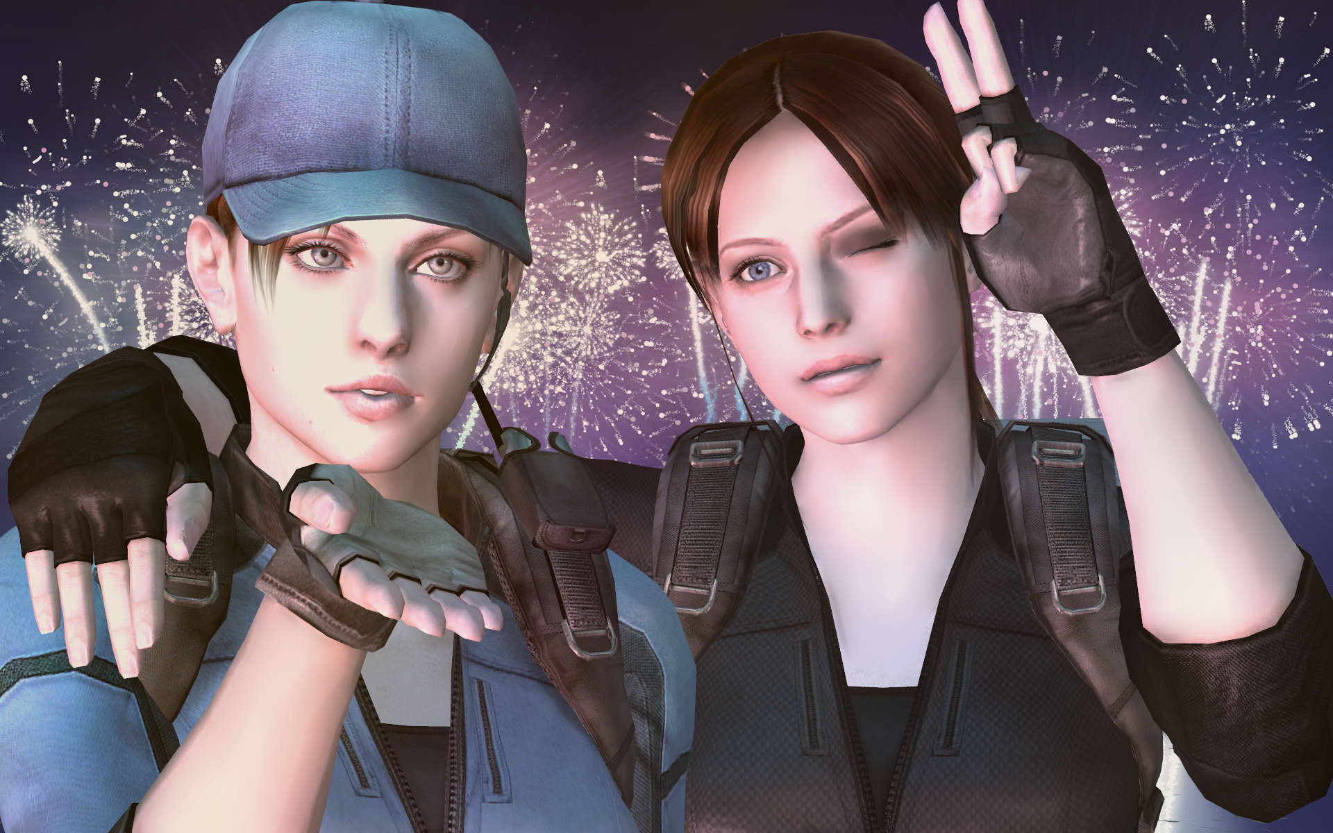 Resident Evil 6 May Include Jill And Claire Just Push Start