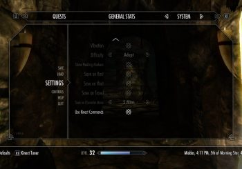 Skyrim Kinect Update Now Live, Here's How to Enable It