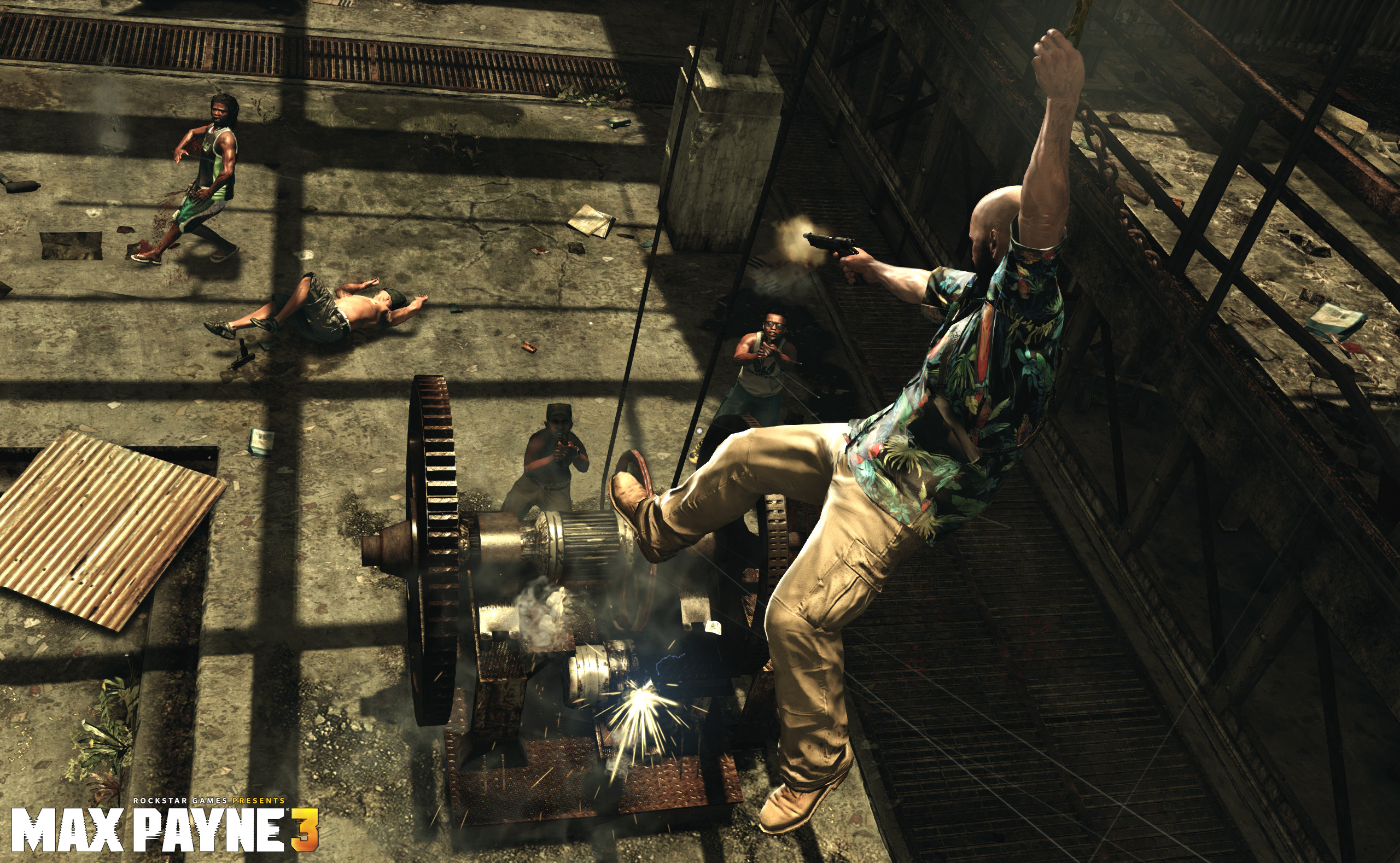 New Max Payne 3 Title Update Available For Ps3 And Xbox 360 Just
