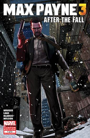 Max Payne 3 Comic #1 – 'After the Fall' Now Available