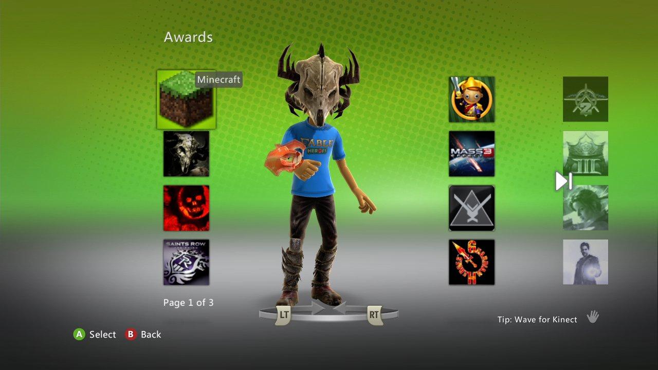 Minecraft Avatar Awards How To Get Them Just Push Start Three Way Switch In