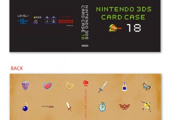 Club Nintendo 3DS Game Card Case is Back in Stock