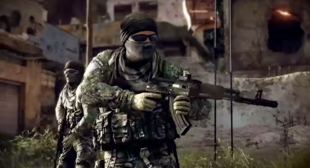 E3 2012: Medal of Honor Warfighter Multiplayer Gameplay