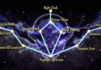 Skyrim SE Dawnguard Guide - Full Vampire Lord Perks List